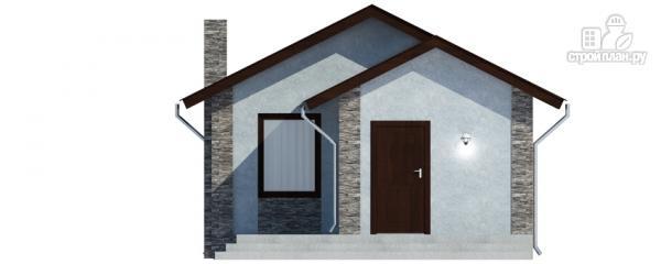 Фото 6: проект одноэтажный дом с террасой