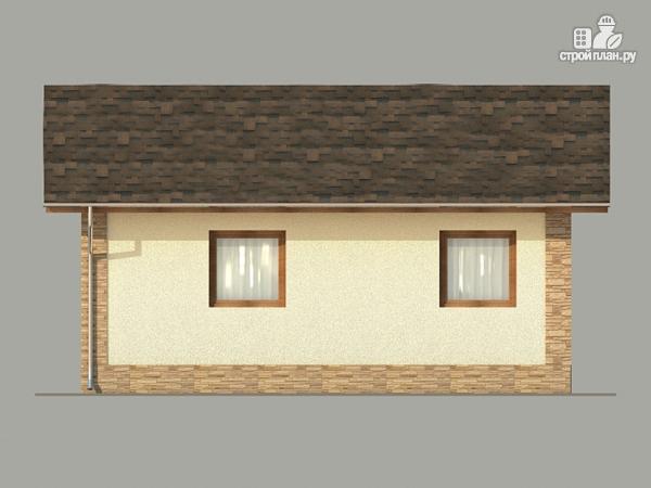 Фото 5: проект одноэтажный коттедж 6х10