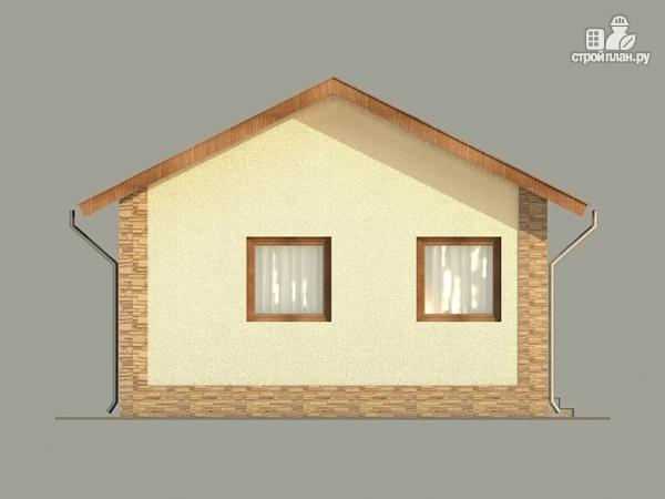 Фото 3: проект одноэтажный коттедж 6х10