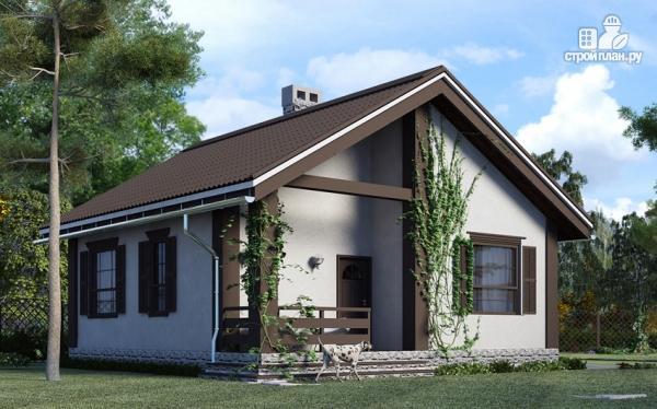 Фото 4: проект одноэтажный дом из газобетона