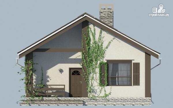 Фото 5: проект одноэтажный дом из газобетона