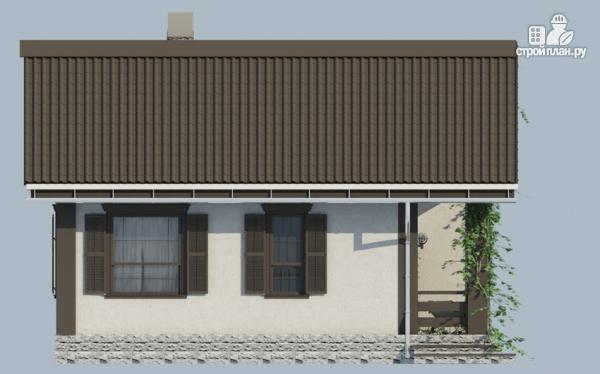 Фото 3: проект одноэтажный дом из газобетона