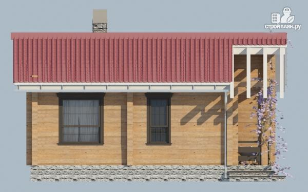 Фото 3: проект деревянный одноэтажный дом