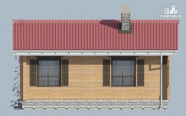 Фото 6: проект деревянный одноэтажный дом