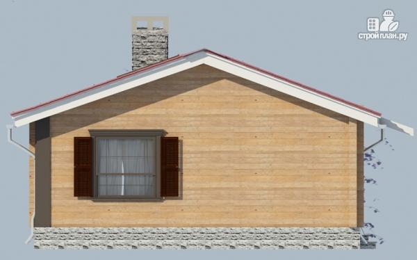 Фото 5: проект деревянный одноэтажный дом