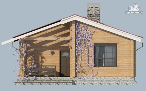 Фото 4: проект деревянный одноэтажный дом