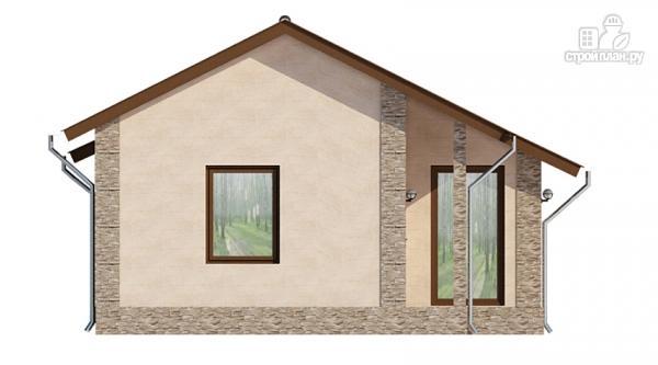 Фото 6: проект загородный дом с террасой