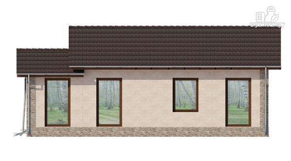 Фото 5: проект загородный дом с террасой
