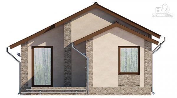 Фото 4: проект загородный дом с террасой