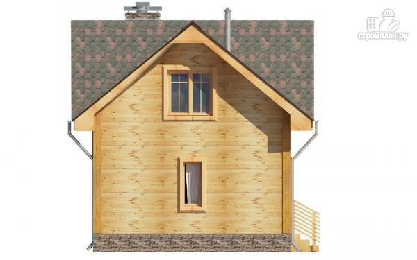 Фото 6: проект дом из дерева с мансардой