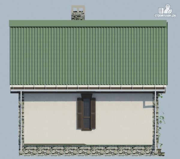 Фото 3: проект одноэтажный загородный дом с камином