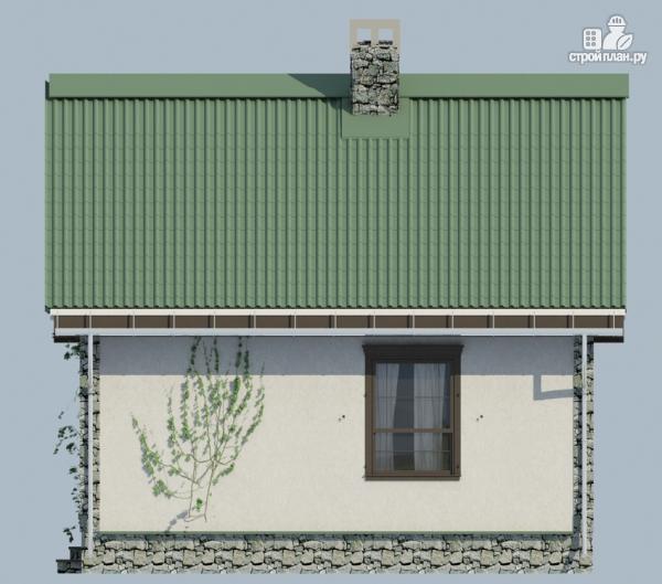 Фото 7: проект одноэтажный загородный дом с камином