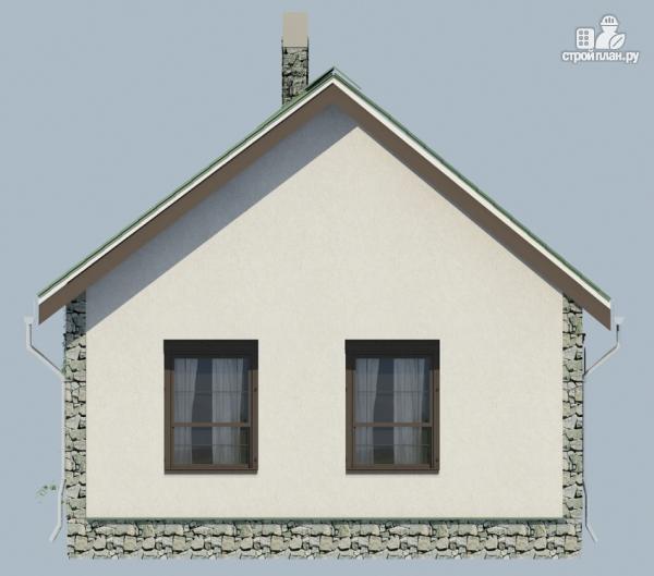 Фото 6: проект одноэтажный загородный дом с камином