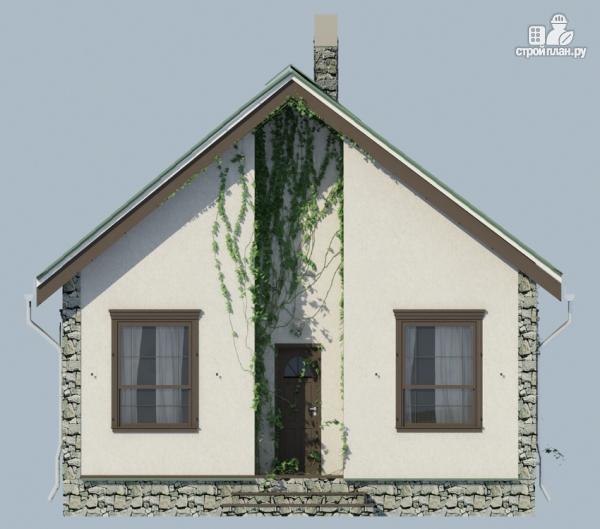 Фото 5: проект одноэтажный загородный дом с камином