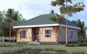 Проект одноэтажный дом из газобетона