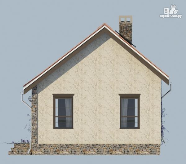 Фото 6: проект одноэтажный загородный дом с террасой