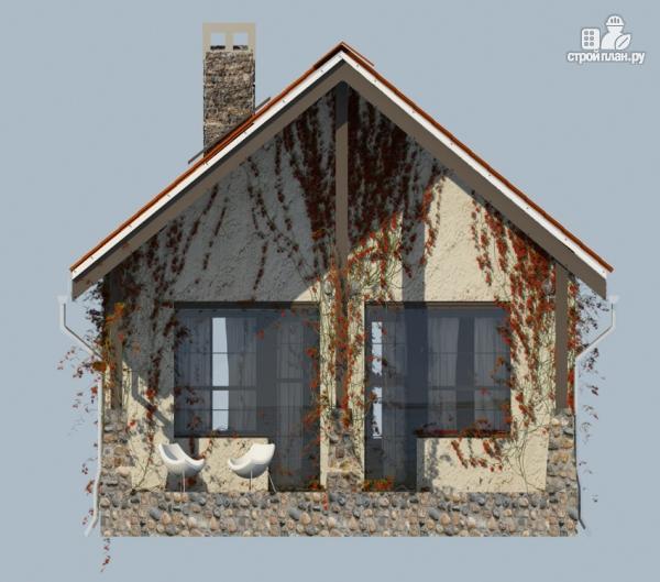 Фото 4: проект одноэтажный дом с террасой