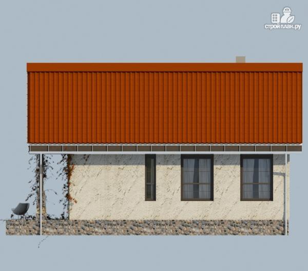 Фото 5: проект одноэтажный дом с террасой