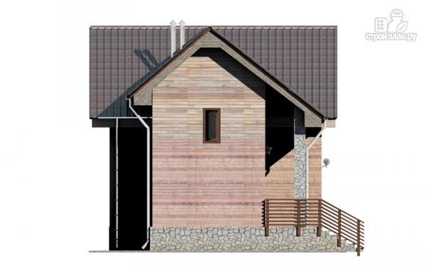 Фото 6: проект дом с крыльцом и гаражом