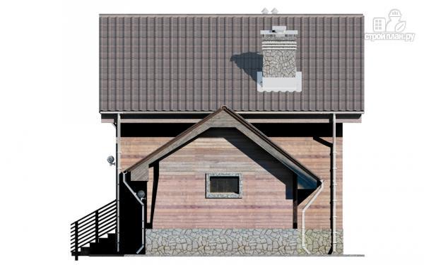 Фото 9: проект дом с крыльцом и гаражом