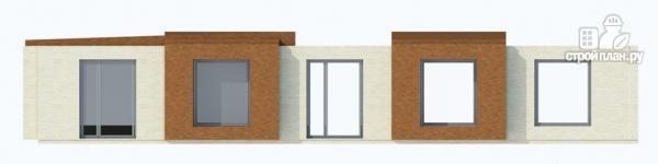 Фото 3: проект одноэтажный дом для углового участка