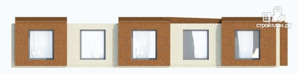 Фото 5: проект одноэтажный дом для углового участка