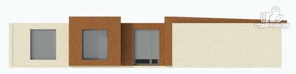 Фото 6: проект одноэтажный дом для углового участка