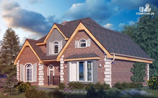 Фото: проект дом с террасой и мансардным этажом