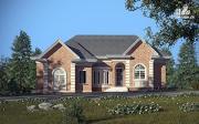 Проект одноэтажный дом для двух поколений