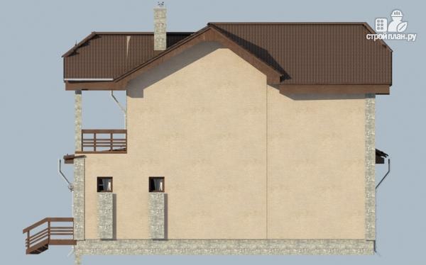 Фото 7: проект дом с террасой и балконом