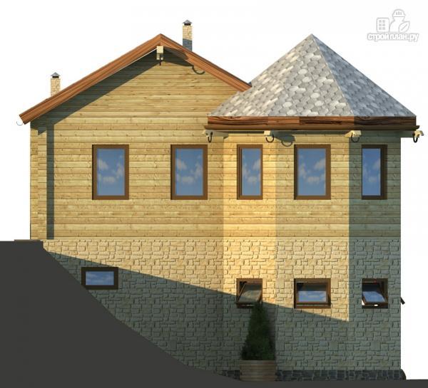 Фото 5: проект комбинированный двухэтажный дом с мастерской