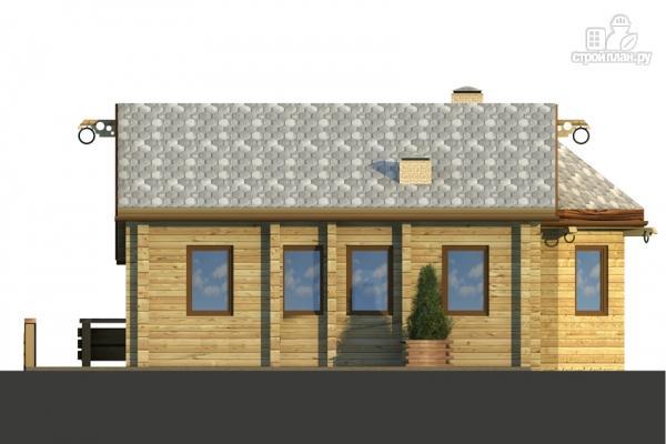 Фото 4: проект комбинированный двухэтажный дом с мастерской