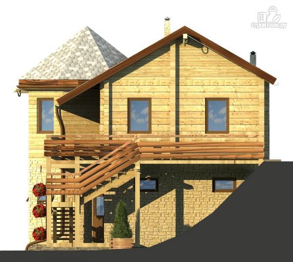 Фото 6: проект комбинированный двухэтажный дом с мастерской