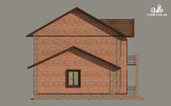 Фото 5: проект дом с балконом и гаражом