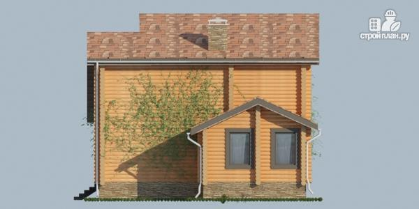 Фото 5: проект деревянный дом с балконами и террасами