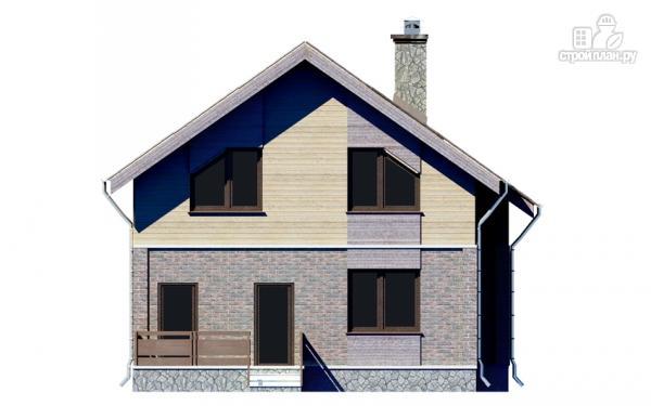 Фото 9: проект дом с мансардным этажом и террасой