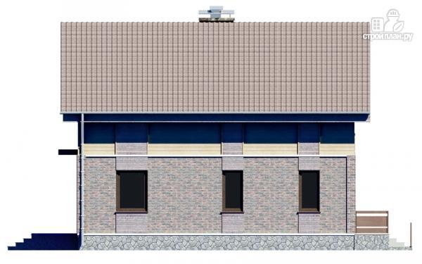 Фото 6: проект дом с мансардным этажом и террасой