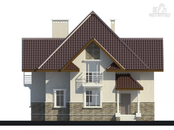 Фото 9: проект дом с тремя балконами
