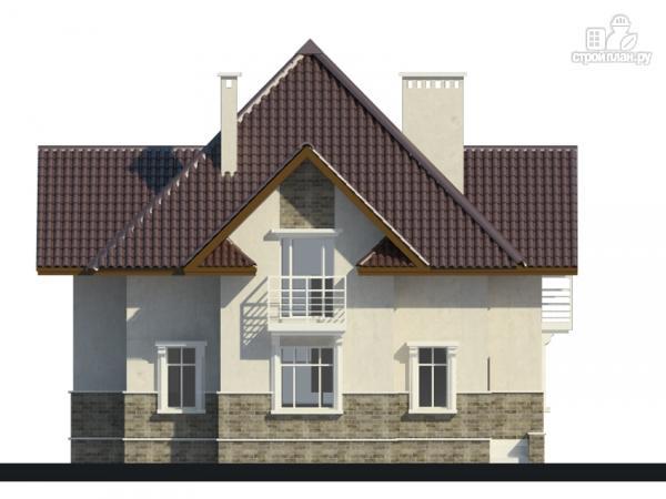Фото 6: проект дом с тремя балконами