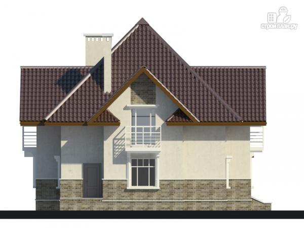 Фото 7: проект дом с тремя балконами