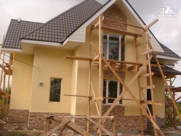 Фото 4: проект дом с тремя балконами