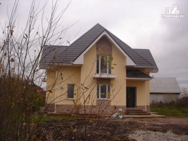 Фото 5: проект дом с тремя балконами