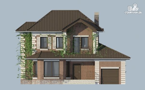 Фото 8: проект двухэтажный дом с гаражом