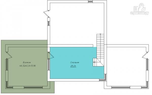 Фото 3: проект дом с террасой на крыше