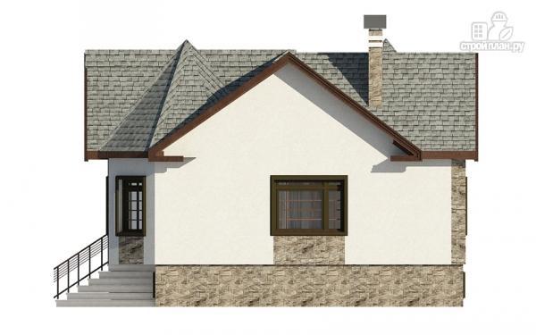 Фото 5: проект одноэтажный дом с эркером в гостиной и спальне