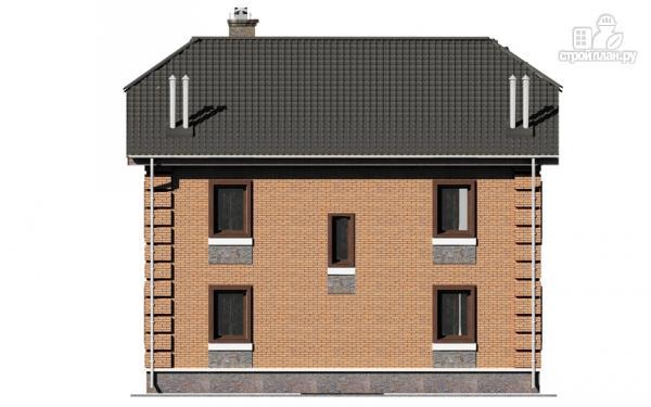 Фото 9: проект двухэтажный дом с балконом и эркерами