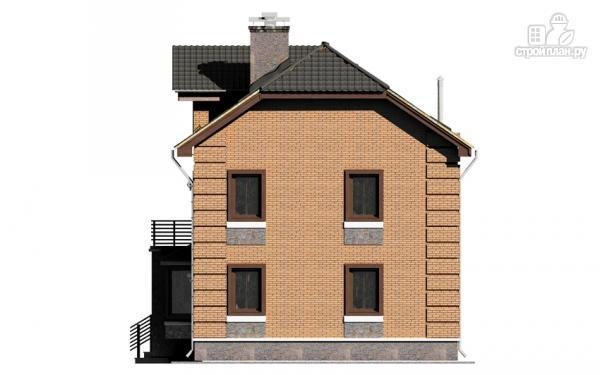 Фото 7: проект двухэтажный дом с балконом и эркерами