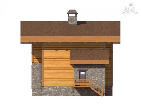 Фото 5: проект двухэтажный дом из газобетона с балконами  и террасой