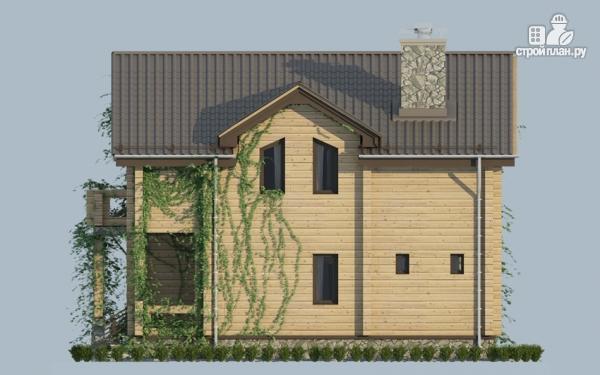 Фото 9: проект загородный дом с двухсветным эркером