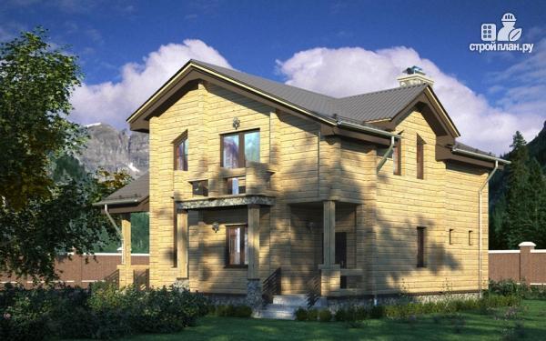 Фото 8: проект загородный дом с двухсветным эркером